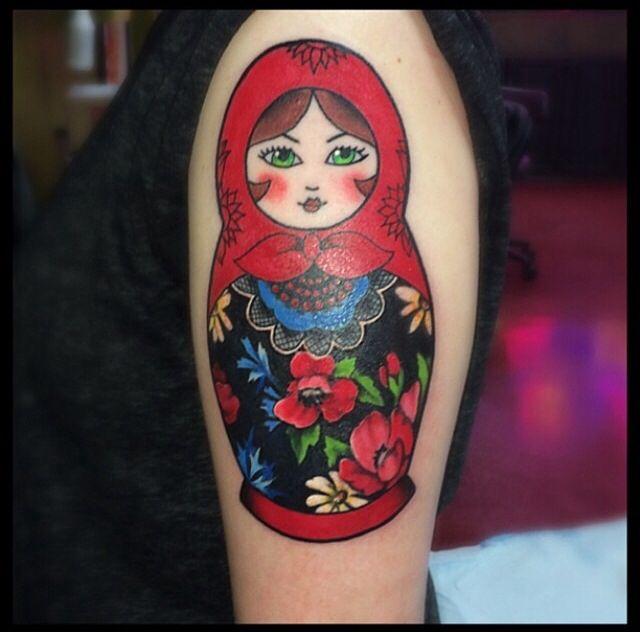 matryoshka tattoos photo - 7