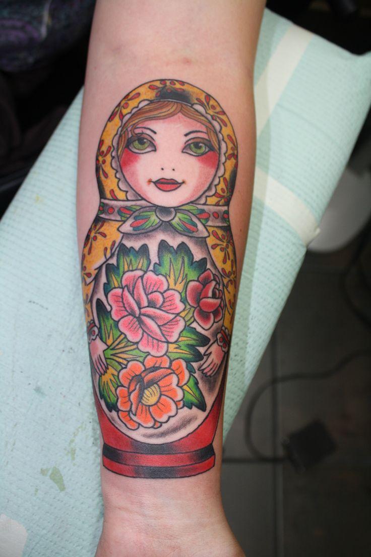 matryoshka tattoos photo - 8