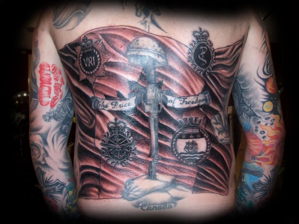 military tattoos photo - 16