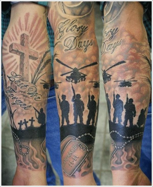 military tattoos photo - 19