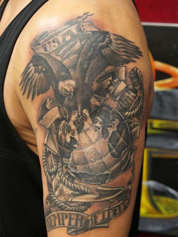 military tattoos photo - 26