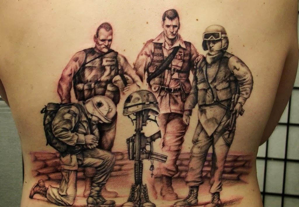 military tattoos photo - 32