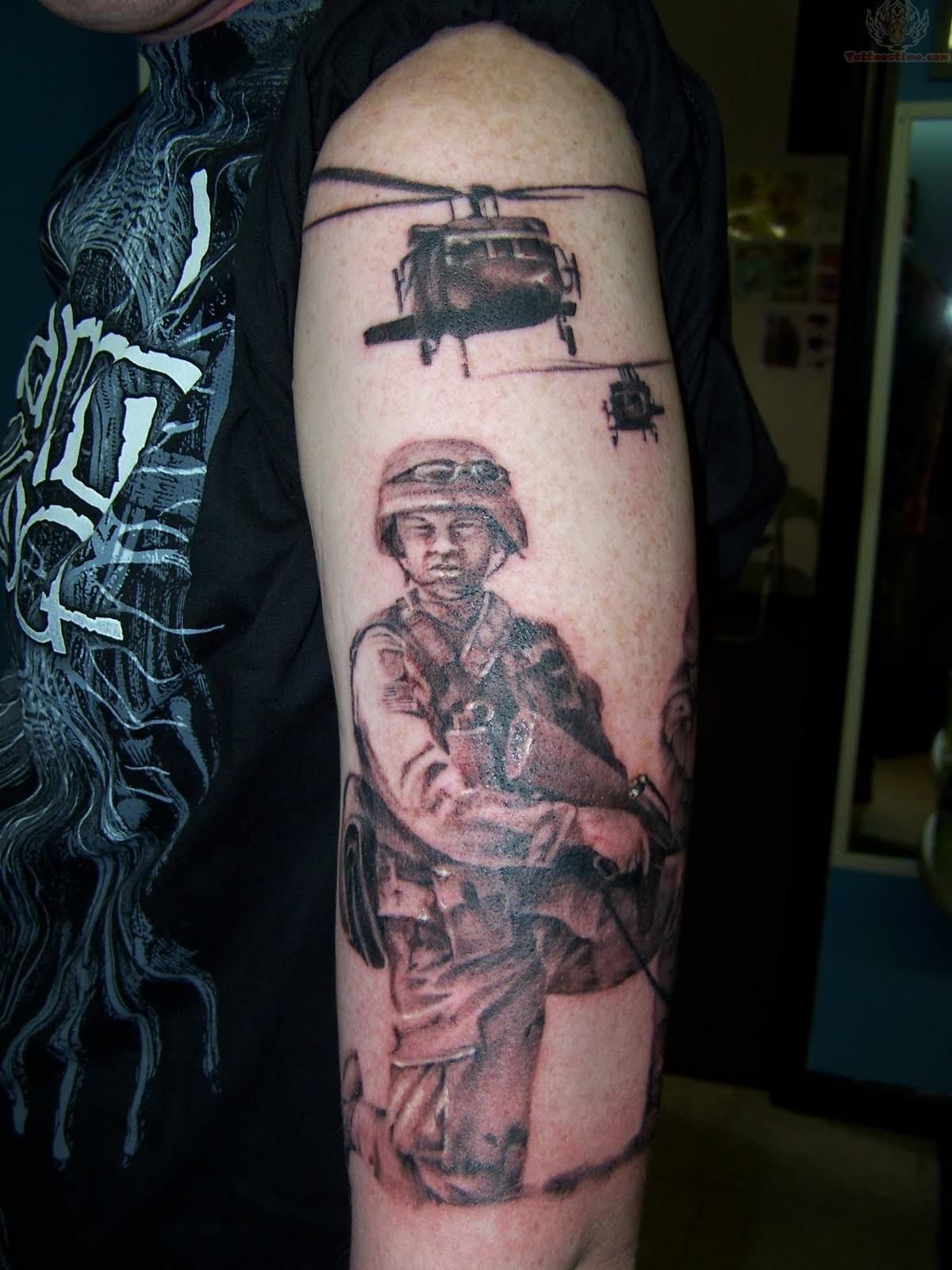 military tattoos photo - 33