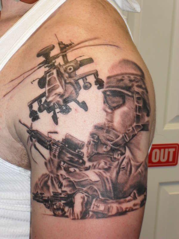 military tattoos photo - 5