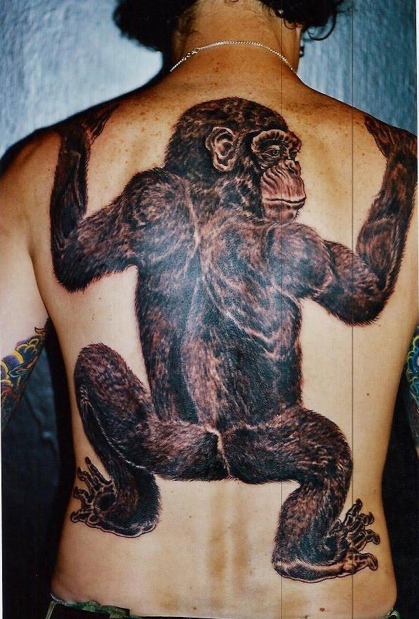 monkey tattoos photo - 1