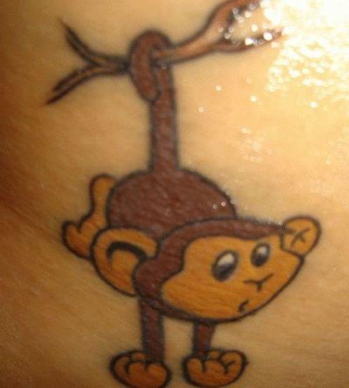 monkey tattoos photo - 13