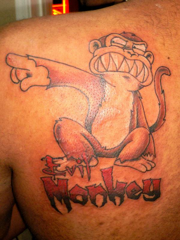 monkey tattoos photo - 14