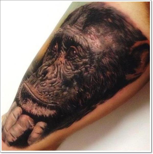 monkey tattoos photo - 16