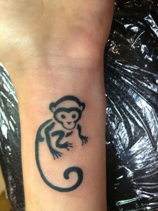monkey tattoos photo - 4