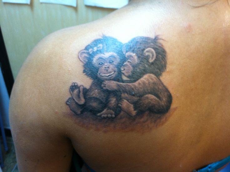 monkey tattoos photo - 6