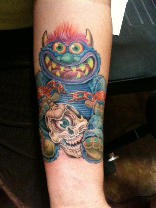 monster tattoos photo - 1