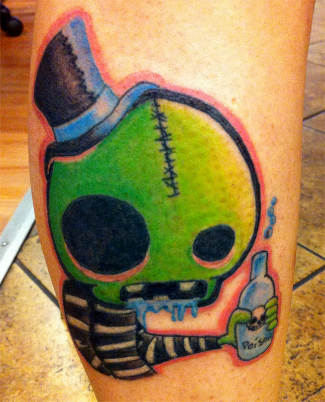 monster tattoos photo - 11