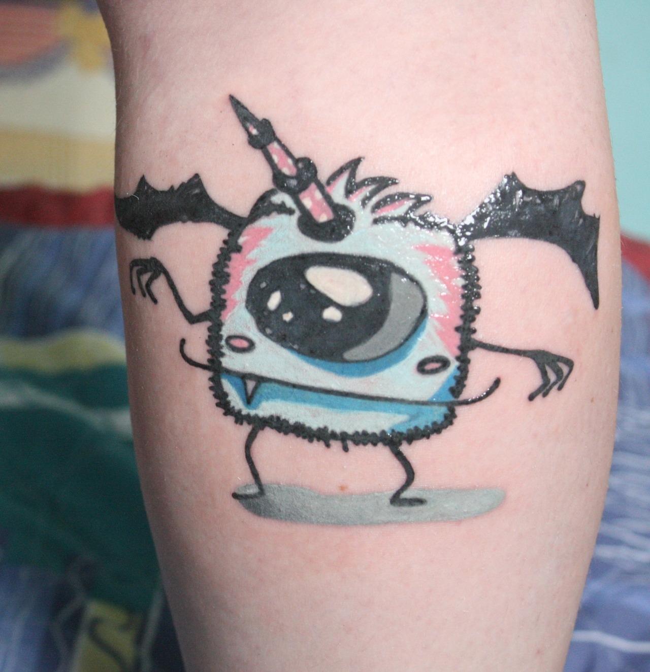 monster tattoos photo - 19