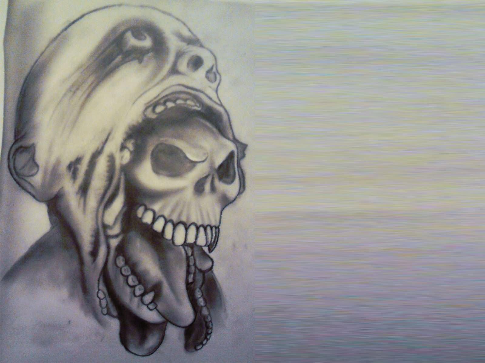 monster tattoos photo - 20