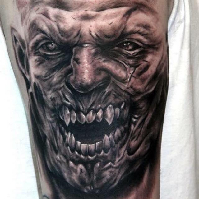 monster tattoos photo - 29