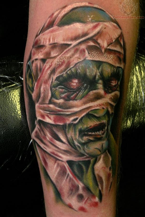 mummy tattoos photo - 1