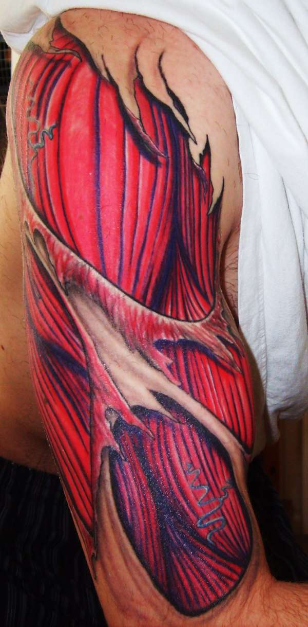 muscles tattoos photo - 12