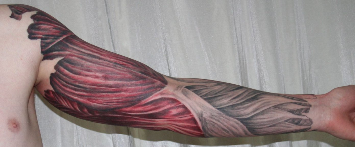 muscles tattoos photo - 14