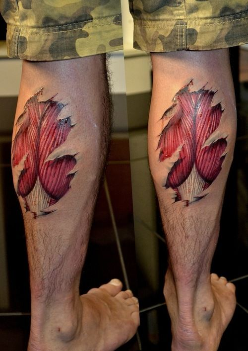 muscles tattoos photo - 16