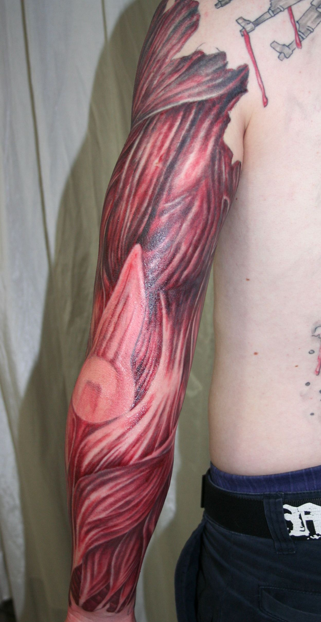 muscles tattoos photo - 19