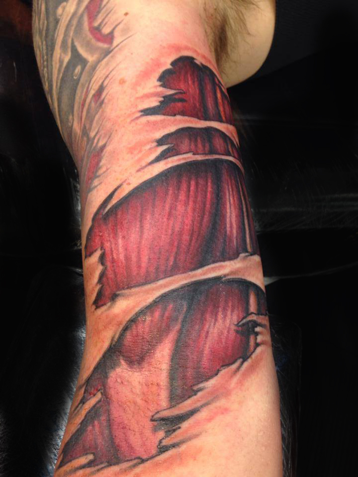 muscles tattoos photo - 23