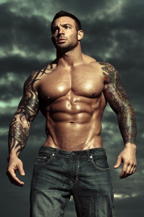muscles tattoos photo - 3