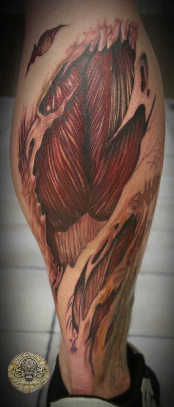 muscles tattoos photo - 5