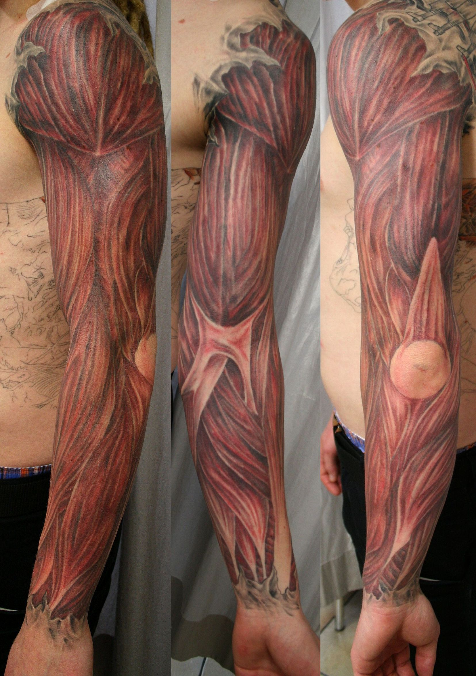 muscles tattoos photo - 6