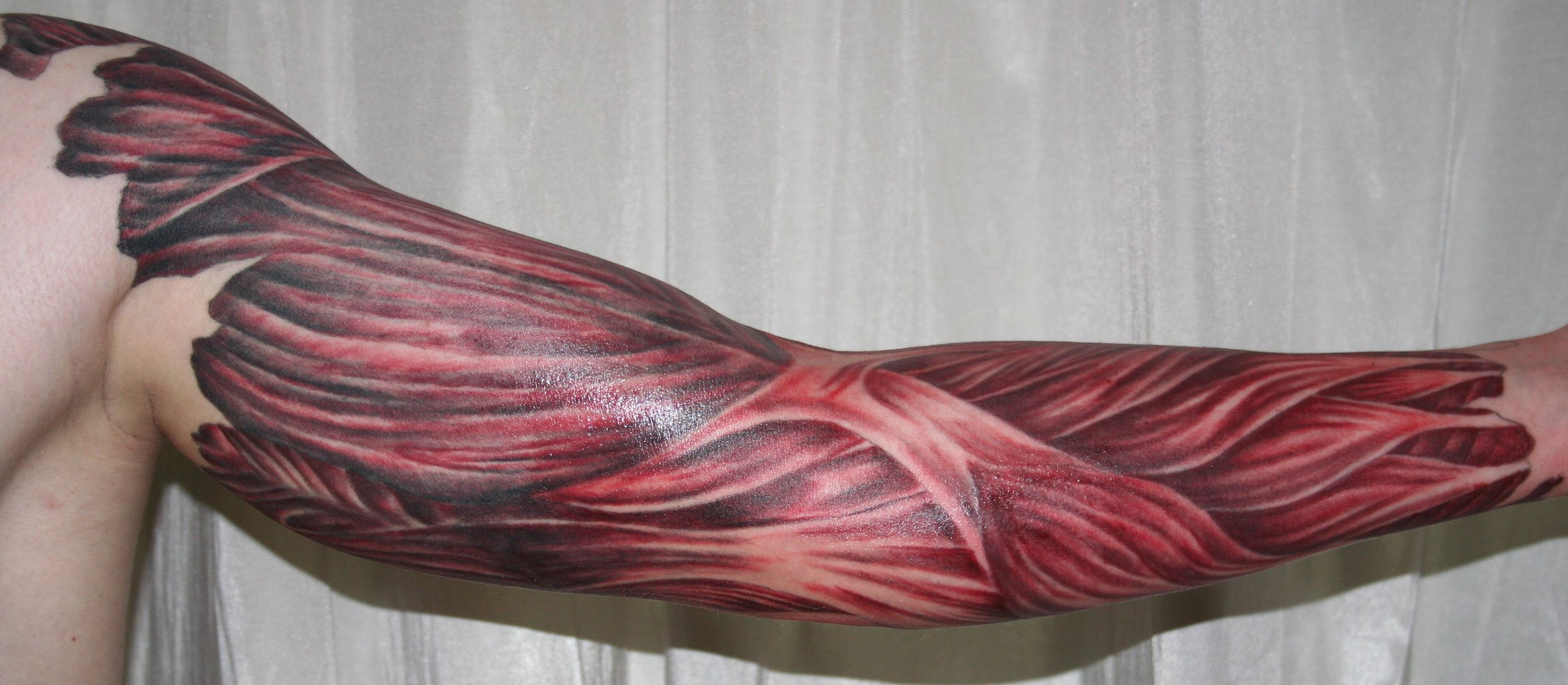 muscles tattoos photo - 7