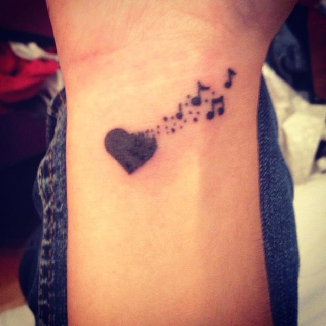 music tattoos photo - 10