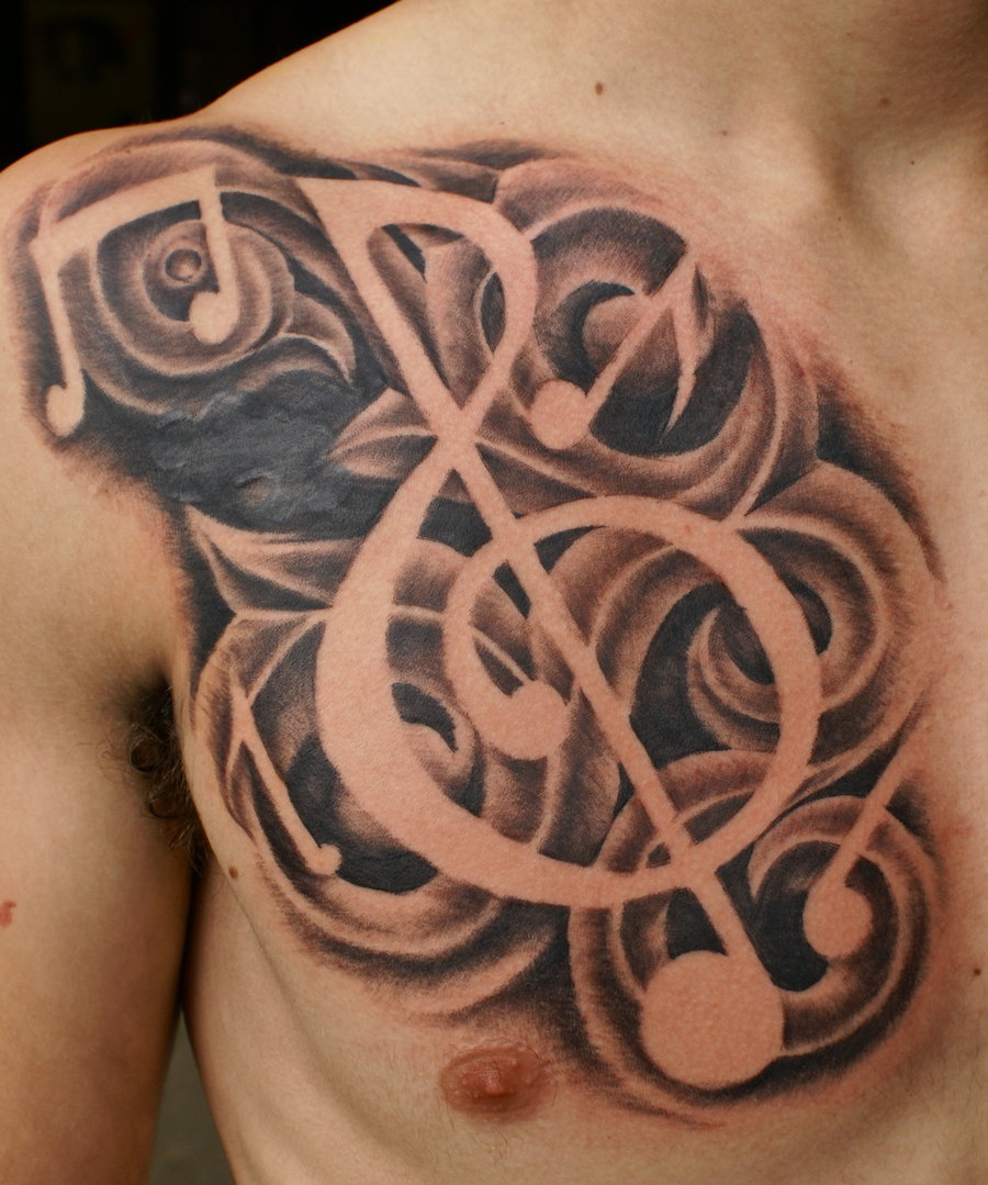 music tattoos photo - 15