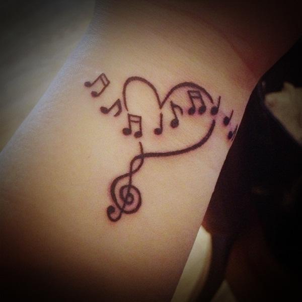 music tattoos photo - 19