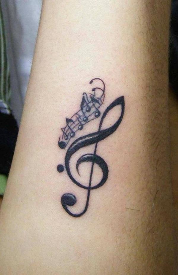 music tattoos photo - 2