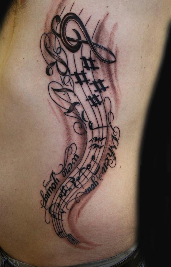 music tattoos photo - 3