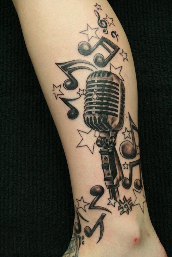 music tattoos photo - 8
