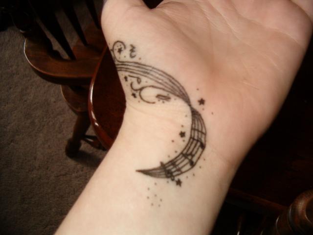 music tattoos photo - 9