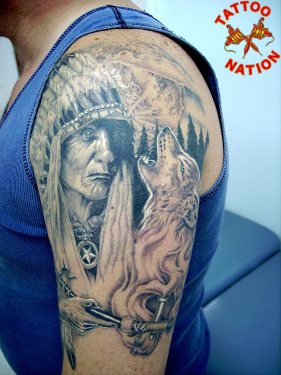 native american tattoos photo - 13
