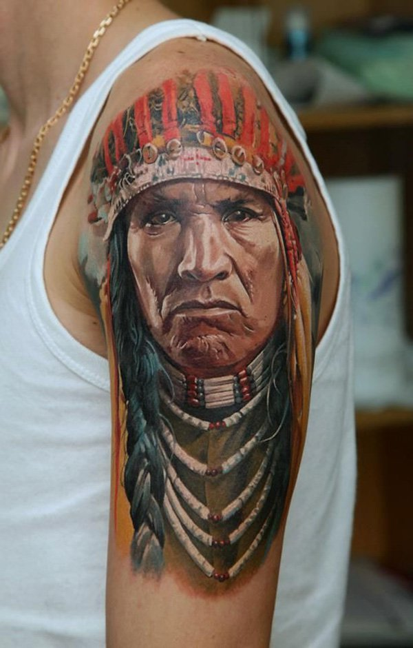 native american tattoos photo - 14