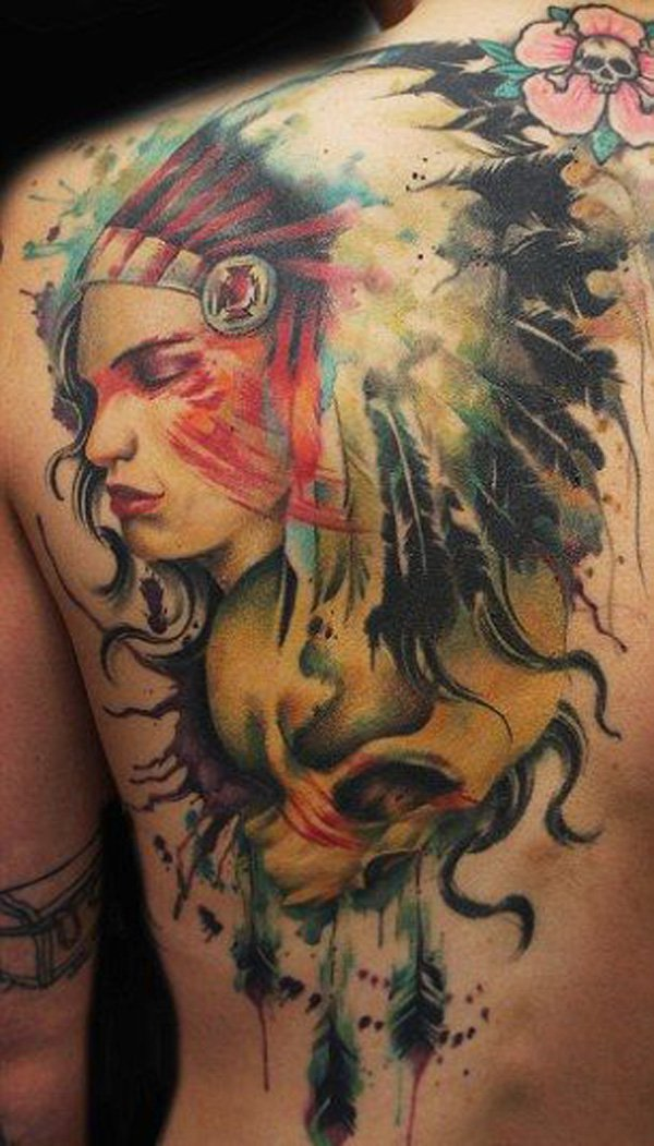 native american tattoos photo - 17