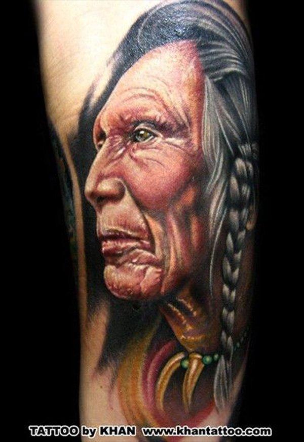 native american tattoos photo - 21