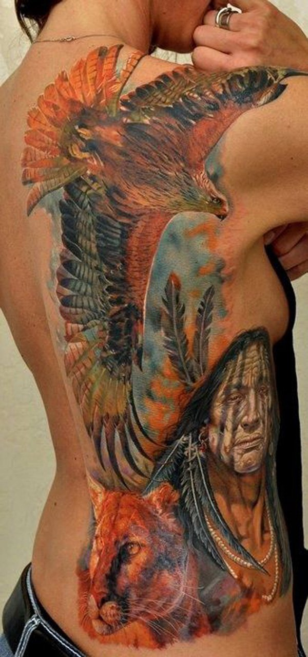 native american tattoos photo - 23