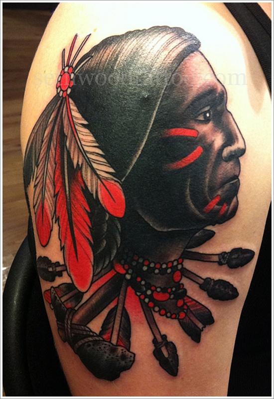 native american tattoos photo - 24