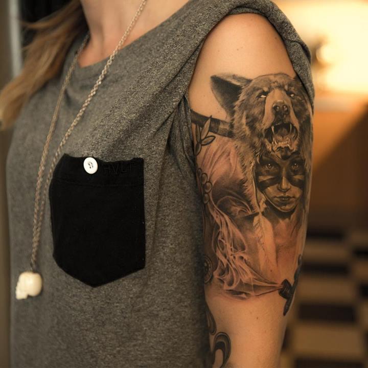 native american tattoos photo - 25