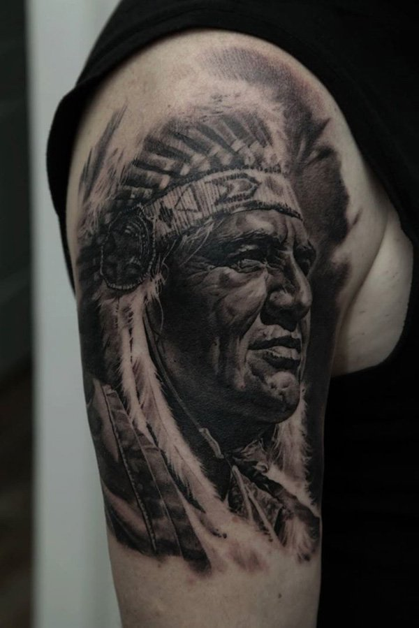 native american tattoos photo - 26
