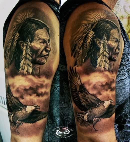 native american tattoos photo - 27