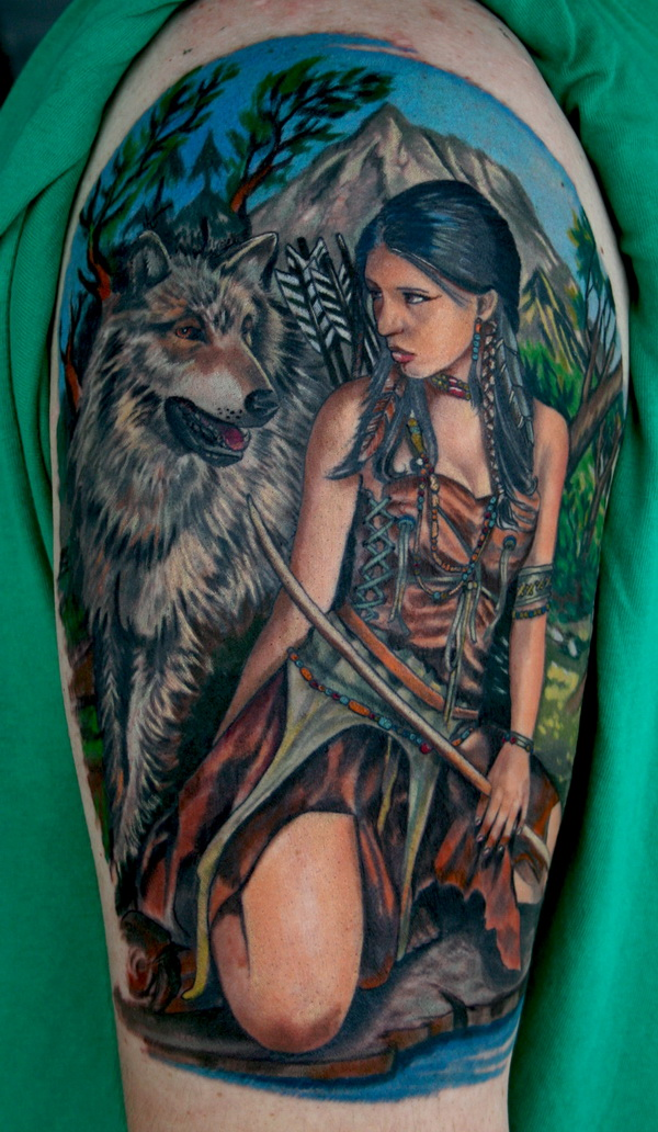 native american tattoos photo - 28