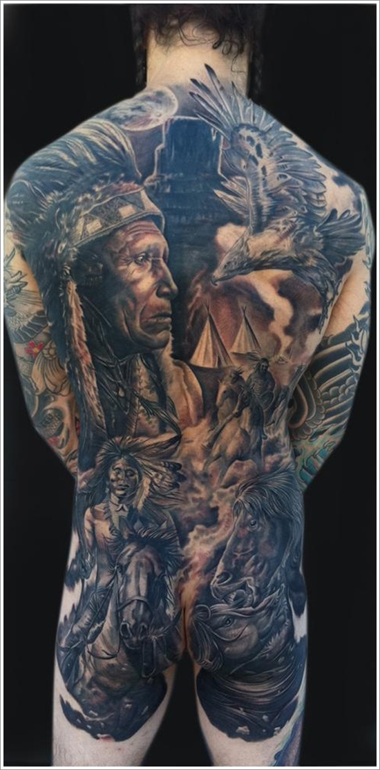 native american tattoos photo - 3