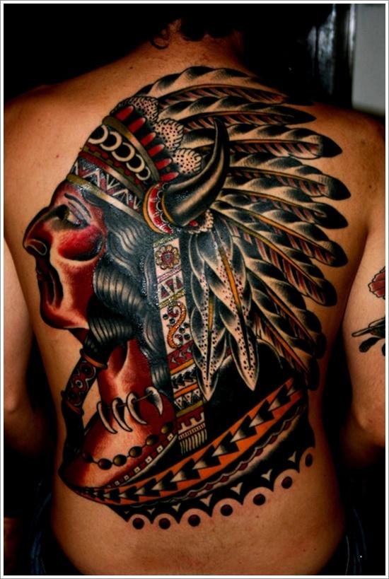 native american tattoos photo - 32
