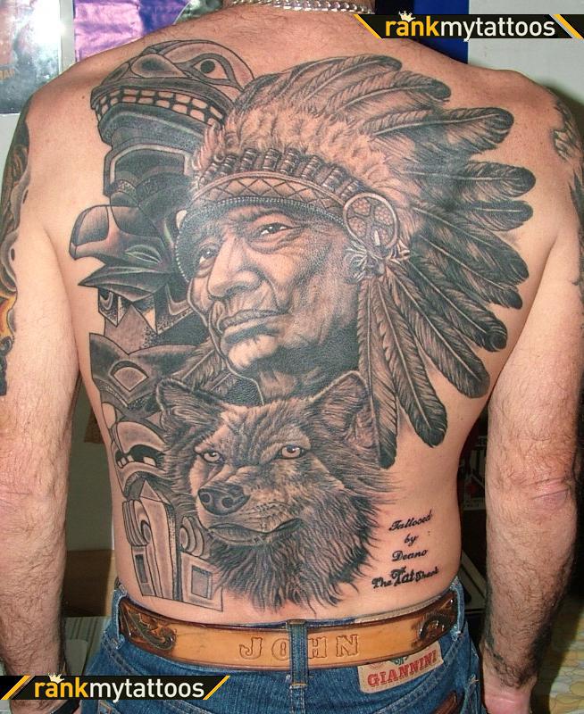 native american tattoos photo - 34