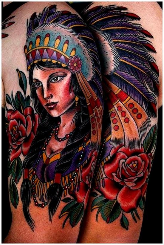 native american tattoos photo - 5